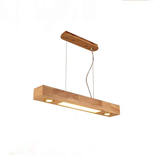 ZMH LED Pendelleuchte holz qiangqiang (80cm)