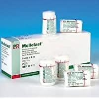 Mollelast Zehen- / Fingerbandage, 4 x 4 cm, 10 Stück preisvergleich bei billige-tabletten.eu