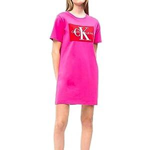 Calvin Klein Vestido Iconic Monogram Rosa Mujer