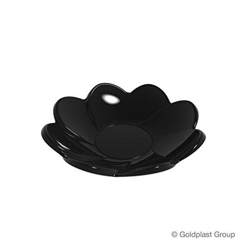 Finger Food soucoupe Daisy PS 8,5 cm 30 cc cfz 25pz noir