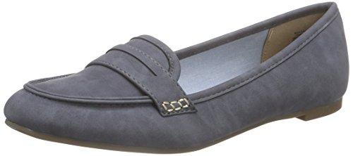 Jane Klain 221 893 Signore Chiuse Ballerine Blu (jeans 869)