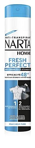 NARTA Déodorant Atomisateur pour Homme - 50 ml
