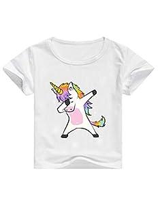 Camisetas Unicornios para Niñas Dibujos