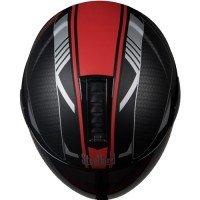 Steel bird SB-33 Eve Divine Helmet (Matte Black with Red)