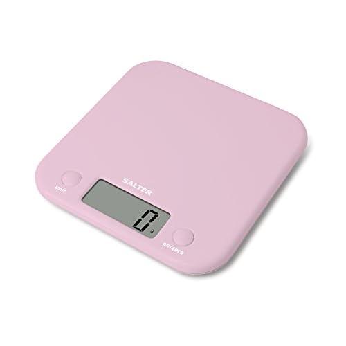 31B47H6619L. SS500  - Salter 1058PKDR Electronic Digital Kitchen Scale, Pastel Pink