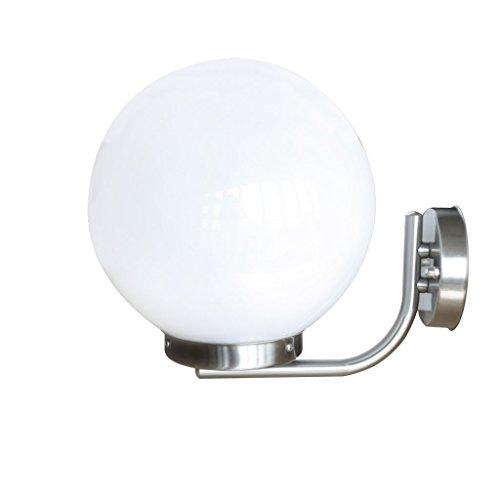 Festnight Edelstahl Außen Wandleuchte Höhe von 32 cm Außenwandlampe Wandleuchten E27 Außenbeleuchtung