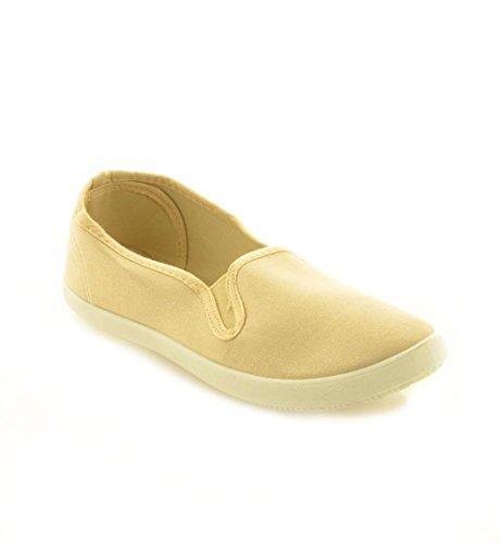 Pretty Shoes - Mocassini Donna Beige