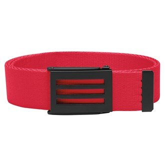 Adidas Ceinture Toile 2016 - Rouge, One size