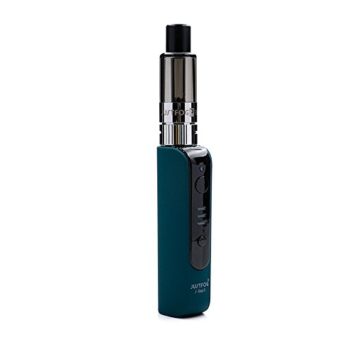 JUSTFOG P16A VV Wiederaufladbare Starter Kit 900mAh mit J-Easy 3 Batterie und 1.9ml P16A Clearomizer, Bottom Filling Design E-Zigarette, Nikotinfrei, Kein E-Liquid (Grün)