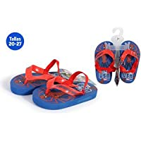 IDEALCASA KIDS ZAPATILLAS PLAYA CON GOMA SPIDERMAN AZUL