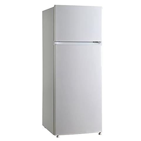 Midea hd-273fn autonome Blanc 166L 41L a + + Réfrigérateur-congélateur–Réfrigérateur (autonome, haut poste, a + +, blanc, N, St, gauche)