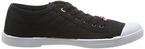 Le Temps Des Cerises Basic 02, Damen High-top Sneaker Schwarz (pittura Nero / Oro)