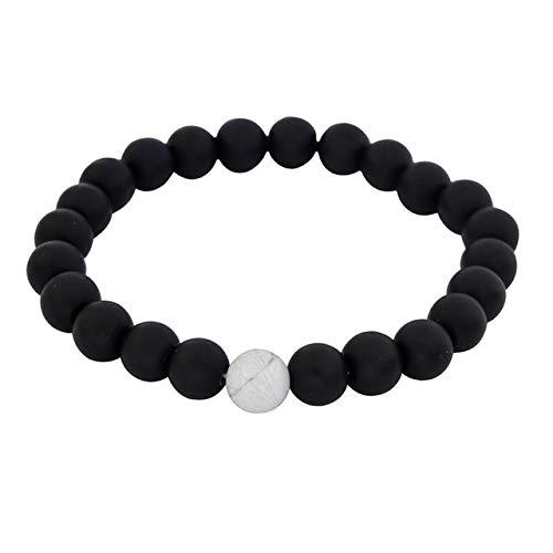 Kostüm Männliche Lehrer - DSZ Armband für Paare, natürliche Lavasteine, Perlenarmbänder, Armreifen für Männer und Frauen