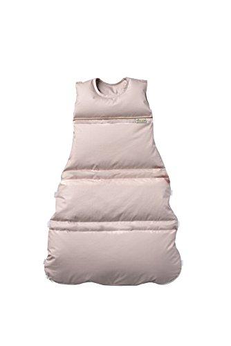 Premium Daunenschlafsack, längenverstellbar, Alterskl. ca 3-20 Monate, sand Pünktchen, 80 cm