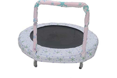 trampoline Mini BouncerSnow 121 cm white Best Price and Cheapest