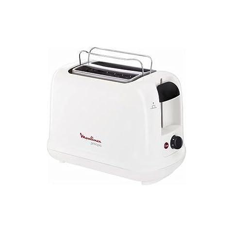 Moulinex Toaster Principio weiß/schwarz
