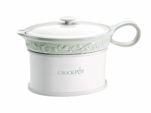 Crock-Pot SCCPVG000 18-Ounce Electric Gravy Warmer, White by Crock-Pot width=