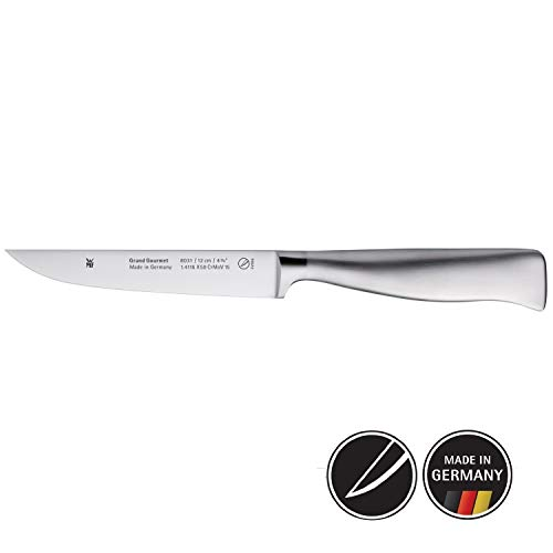 WMF Grand Gourmet Allzweckmesser geschmiedet, Spezialklingenstahl, Performance Cut, Edelstahlgriff Klinge, 12 cm -