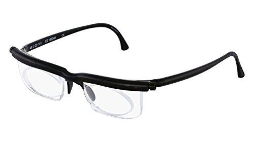 Adlens Individuelle Brille Sehhilfe Lesebrille/schwarz/+1.75 Dioptrien