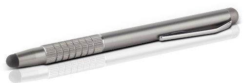 Speedlink Eingabestift Touchscreen Pen - QUILL Eingabestift für alle kapazitiven Touchscreens (sanft gleitende Gummispitze - extra schlankes Format - Schutzfolien-kompatibel) Tablet-PCs / Pads Smartphones grau