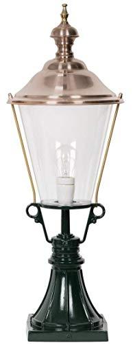 Casa Padrino Jugendstil Gartenlampe 29 x 29 x H. 78 cm Garten Terrassen Wege Einfahrt Beleuchtung,...