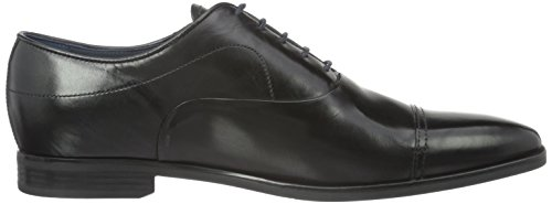 Geox U New Life C, Oxfords Homme Schwarz (BLACKC9997)
