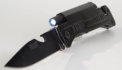 Aktion-Adventure-1-schwarz-Waffengesetz-frei-6-Funktionen-Messerschrfer-und-Grteltasche-Survivalmesser-Rettungsmesser-fr-Outdoor-Wildniss-Angeln-JagenPaddelnCampingWandernKlettern-Zelten-Fischen-Outdo