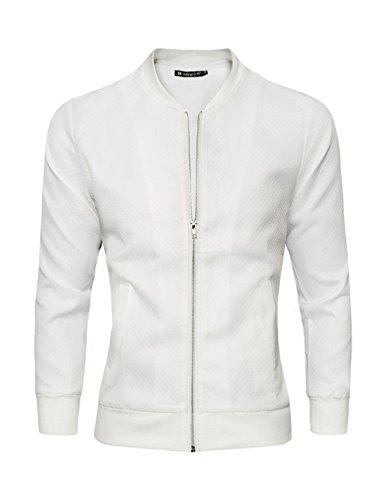 allegra-k-hommes-a-motifs-losanges-design-col-remontant-fermeture-a-glissiere-veste-blanc-homme-l-10