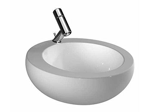 Laufen Waschtisch-Schale Alessi ONE mittig 520x520 LCC weiß, 8189714001041