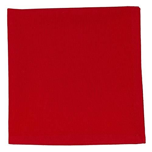 Design Imports DII Basics Tango Rot Serviette, 4Stück 4 Servietten Basic
