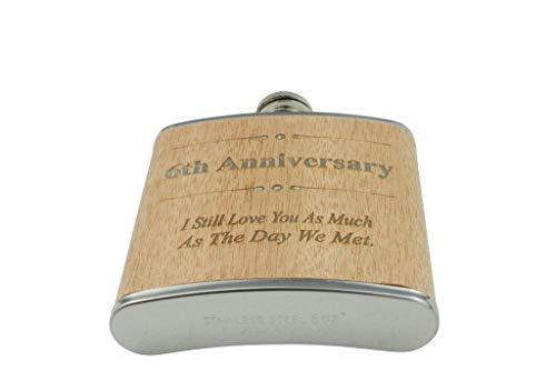 Flachmann zum 7. Hochzeitstag, Geschenk für Ihn