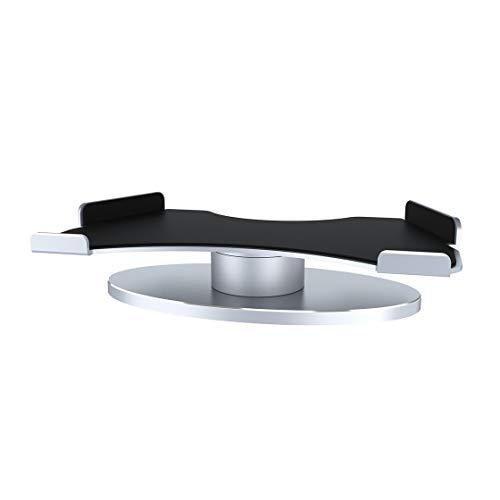 Preisvergleich Produktbild Hermosairis Durable 360 Grad-Drehung Aluminiumlegierung Halterung leichte Halter Base geeignet für Amazon Echo Zeigen Zubehör