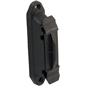 Rutland 30-157R Elektroband- und Seilisolatorklemme für Holzpfähle, schwarz, 10 Stück