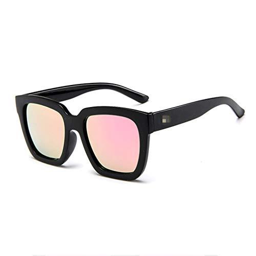 POIUDE Pilotenbrille Verspiegelt Damen und Herren Retro Sonnenbrille Brille mit Federscharnier...