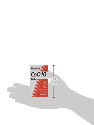 31B4wxofKGL - HealthAid CoQ-10 120mg - 30 Capsules