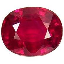 Getgemstones Ruby Stone Certified Natural Manik Gemstone 9.25 Ratti
