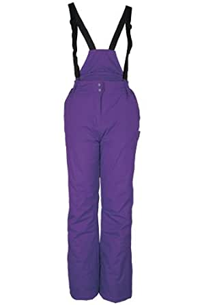 Mountain Warehouse Hearts Womens Snowproof Zipped Ankles Snowboarding Skiing Ski Trousers Pants Purple 20