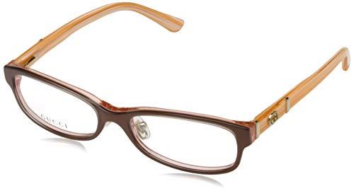 Gucci Damen GG-3527-U-F Brillengestelle, Rot, 52