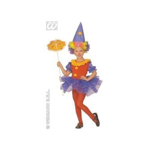 Kinderkostüm Ballerina-Clown Gr. 110 ca. 3 - 4 Jahre