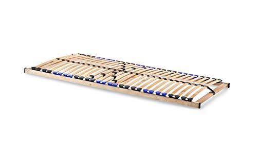 snoozo Lattenrost Lattenrahmen TwinFlex   28 Federleisten   5-facher Härteverstellung   zur Selbstmontage   geeignet für alle Matratzen   80 x 200 cm