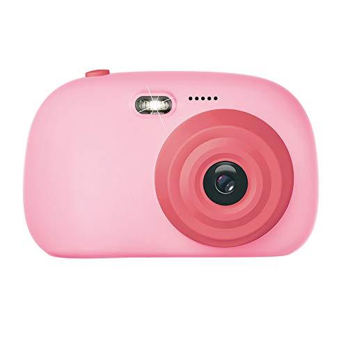 LARDOO Lernspielzeug Foto Digitalkamera Kinder Mini-Spielzeugkamera mit Umhängeband Camaras fotograficas digitales Fotografie Geschenke 12MP,Pink