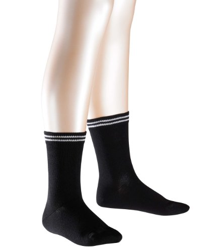 FALKE Unisex - Kinder Socken 10673 2Friends SO, Doppelpack, Gr. 31-34, Schwarz (black 3000)