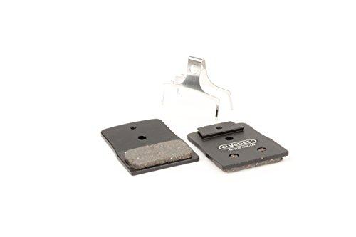 ELVEDES 1 Paire Metallic Carbon Aerostream Disc Brake Replacement Pads For Set de Plaquettes de Freins Velo/Vtt/E-Bike/Route pour Shimano Br-M666, M785, M985, M988, R785, Rs785 Mixte Adulte, Noir