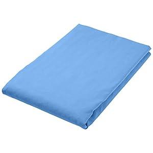 AmazonBasics - Asciugamano da bagno in microfibra, Microfibra, blu, Bagno