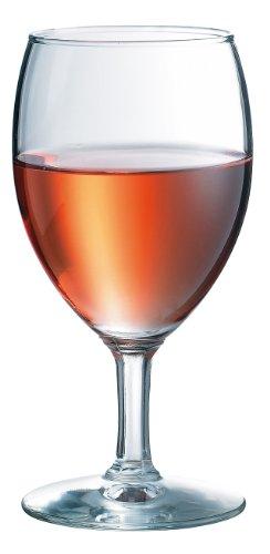 Durobor 951/24 Napoli Verre à vin rouge 240ml, 12 verres, sans repère de remplissage