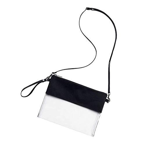 LSAltd Klare Umhängetasche Klare Umhängetasche mit verstellbarem Schultergurt -