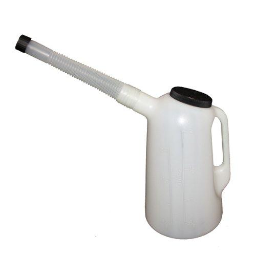 HARK Flüssigkeitsmaß 2l,mit Schutzdeckel und flexiblem Auslauf
