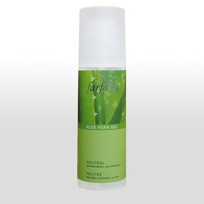 Farfalla Aloe Vera Gel Neutral 150ml,die Linie mit dem Anti-Aging-Effekt, sehr feuchtigkeitsspendend, Intenisvpflege für die Haut