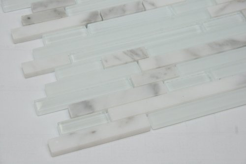 random-brick-pattern-glass-tile-marble-tile-color-white-glass-mosaic-tile-with-jazz-white-marble-mos
