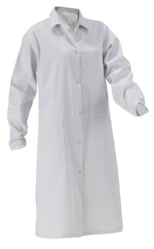 Damen Laborkittel B-Ware Baumwolle weiß Labor Kittel Mantel KOKOTT Gr 34